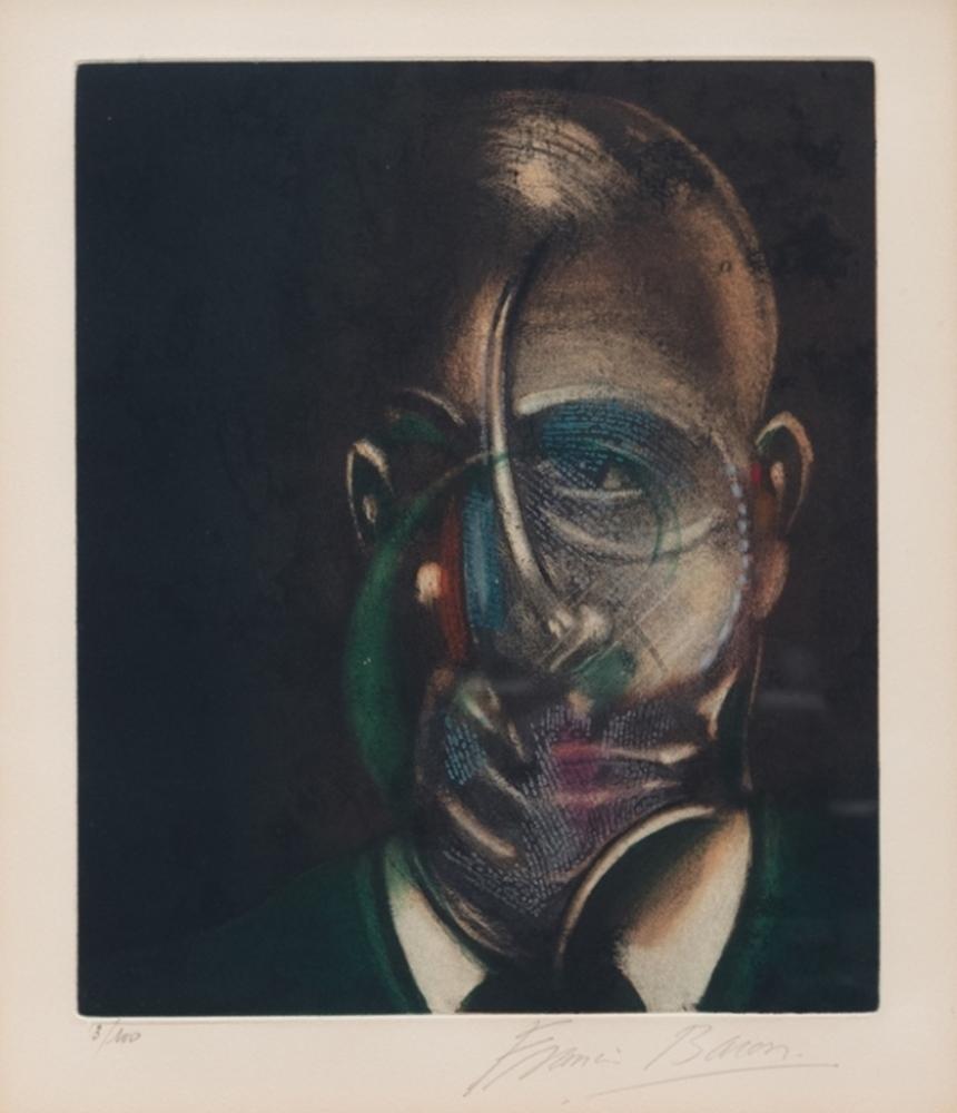 Portrait of Michel Leiris, 1976