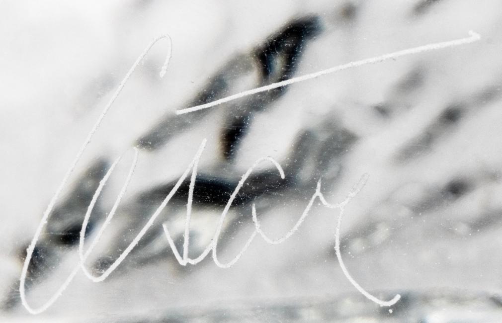 Pouce, 1989 – Signature