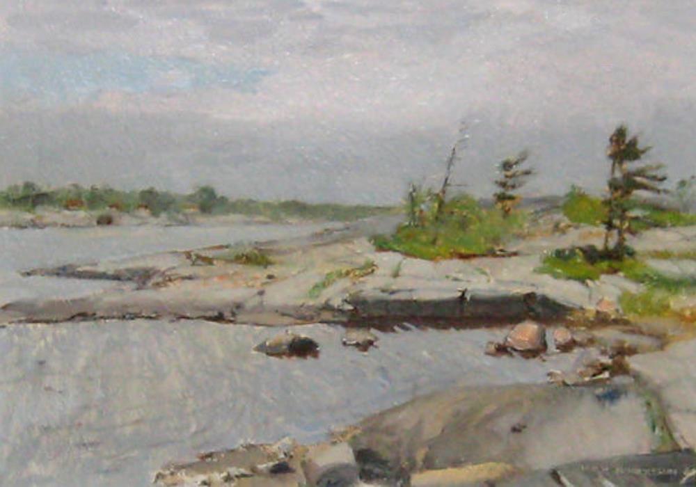 River side – the Georgian Bay, 1964