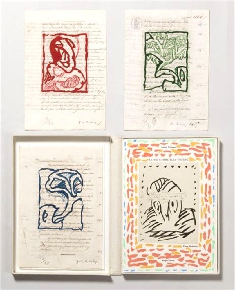 Pierre Alechinsky (1927) Ysebaert Louisseize Arts est à la recherches d'oeuvre d'art et graphique de Pierre ALECHINSKY