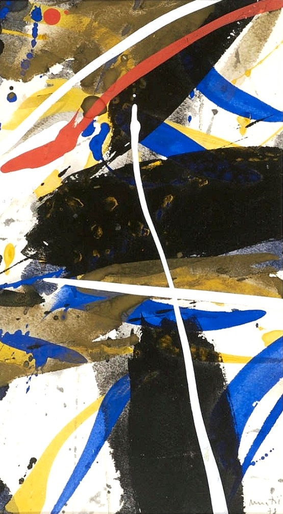 Lyric abstract composition, 1978
