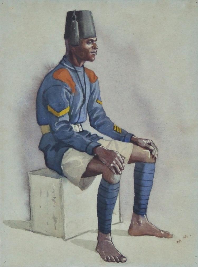 Lance Caporal – The kings African Rifles – Nyasaland, 1929
