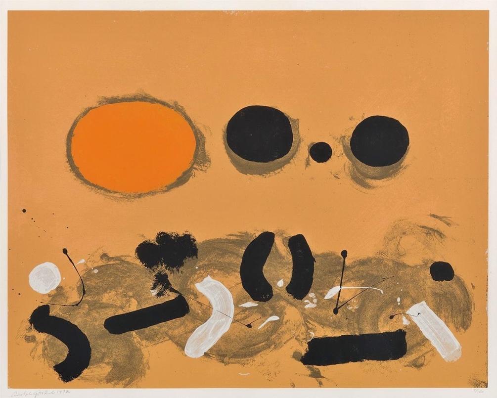 Orange Oval, 1972